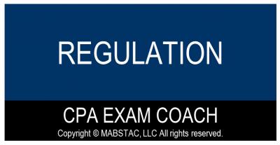 Regulation (REG) CPA Exam Evening & Weekend Classes Q2 (Starts April 10, 2022)