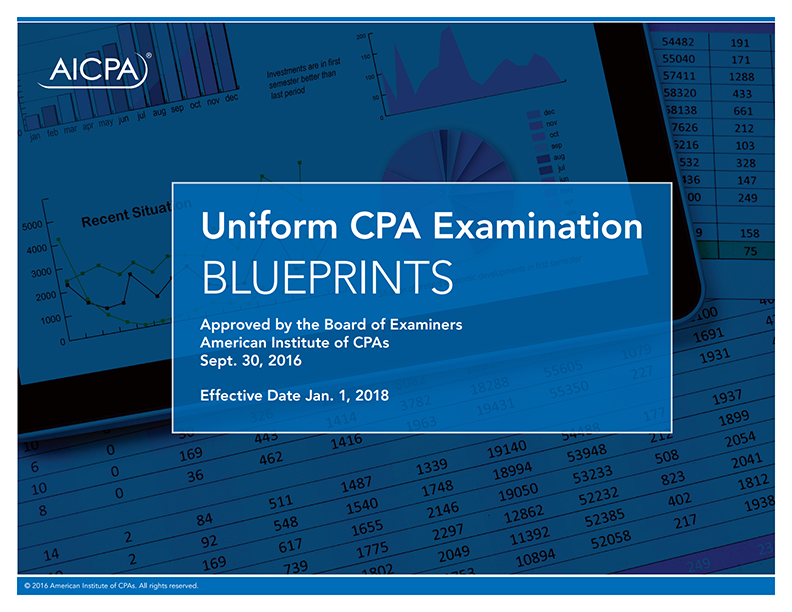 Top 5 Reasons to Dig into the CPA Exam Blueprints